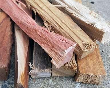 lumberjacks firewood kindling